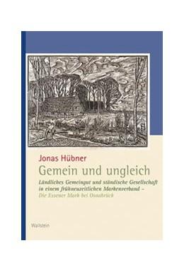 Abbildung von Hübner | Gemein und ungleich | 1. Auflage | 2020 | beck-shop.de