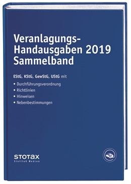 Abbildung von Dorn / Huhn / Karthaus | Veranlagungs-Handausgaben 2019 Sammelband | 2019 | 2020 | Einkommensteuer - Körperschaft...