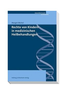 Abbildung von Michel | Rechte von Kindern in medizinischen Heilbehandlungen | 2009