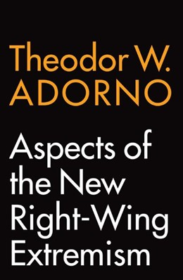Abbildung von Adorno | Aspects of the New Right-Wing Extremism | 2020