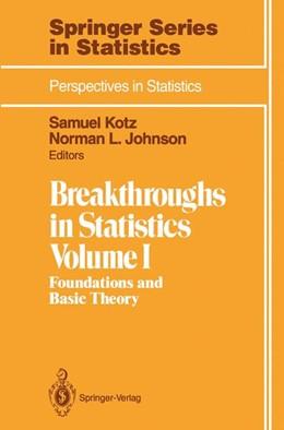 Abbildung von Kotz / Johnson   Breakthroughs in Statistics   1st ed. 1992. Corr. 2nd printing   1993
