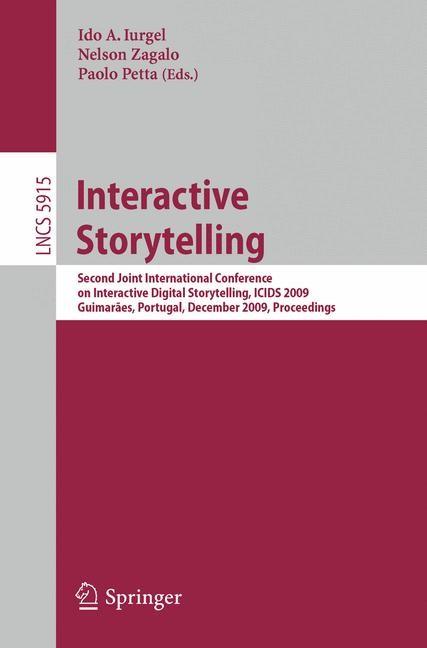 Abbildung von Iurgel / Zagalo / Petta   Interactive Storytelling   1st Edition.   2009