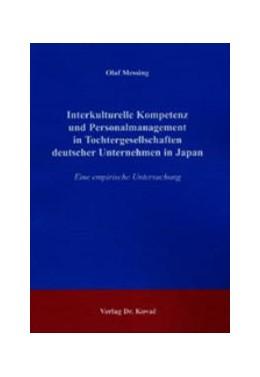 Abbildung von Messing | Interkulturelle Kompetenz und Personalmanagement in Tochtergesellschaften deutscher Unternehmen in Japan | 2003 | Eine empirische Untersuchung | 149