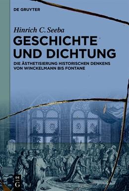 Abbildung von Seeba | Geschichte und Dichtung | 2020 | Die Ästhetisierung historische...