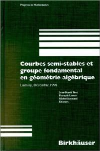 Courbes semi-stables et groupe fondamental en geometrie algebrique | Bost / Loeser / Raynaud, 2000 | Buch (Cover)