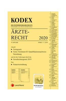 Abbildung von Doralt | KODEX Ärzterecht 2020 | 16. Auflage | 2019