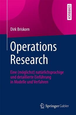 Abbildung von Briskorn | Operations Research | 2019 | Eine (möglichst) natürlichspra...