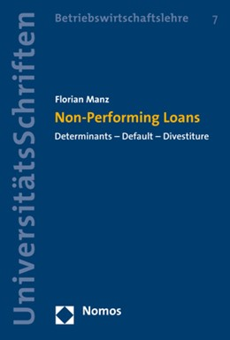 Abbildung von Manz | Non-Performing Loans | 2019 | Determinants - Default - Dives...
