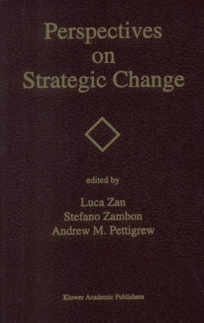 Abbildung von Zan / Zambon / Pettigrew | Perspectives on Strategic Change | 1993