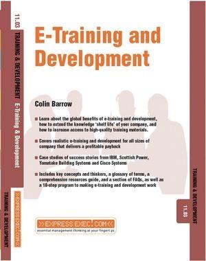 Abbildung von Barrow | E-Training and Development | 2003