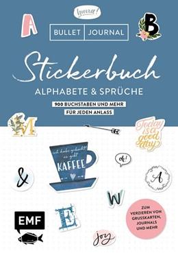Abbildung von Edition Michael Fischer   Bullet Journal - Stickerbuch Alphabete und Sprüche: 1000 Buchstaben und mehr für jeden Anlass   1. Auflage   2020   beck-shop.de
