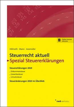 Abbildung von Hillmoth / Mann / Anemüller   Steuerrecht aktuell - Spezial Steuererklärungen 2019   2020