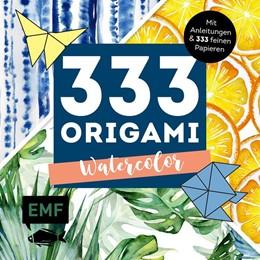 Abbildung von 333 Origami - Watercolor | 2020 | Mit Anleitungen und 333 feinen...
