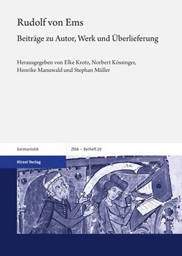 Abbildung von Krotz / Kössinger | Rudolf von Ems | 1. Auflage | 2019 | beck-shop.de