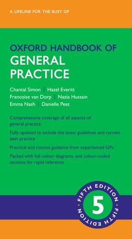 Abbildung von Simon / Everitt   Oxford Handbook of General Practice   5. Auflage   2020   beck-shop.de