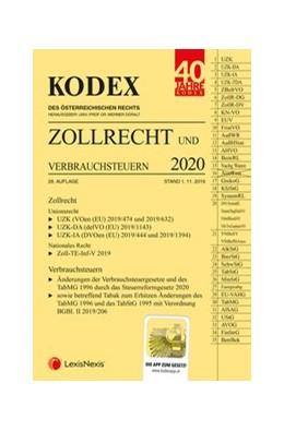Abbildung von Doralt | KODEX Zollrecht 2020 | 28. Auflage | 2019