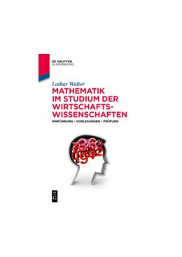 Abbildung von Walter | Mathematik im Studium der Wirtschaftswissenschaften | 1. Auflage | 2020 | beck-shop.de