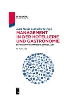 Abbildung von Hänssler | Management in der Hotellerie und Gastronomie | 10. Auflage | 2020 | beck-shop.de