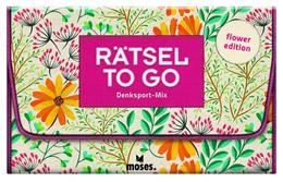 Abbildung von Heine | Rätsel to go Denksport-Mix: flower edition | 1. Auflage | 2020 | beck-shop.de