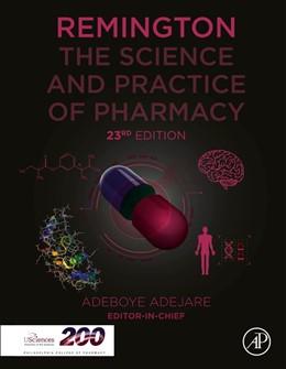Abbildung von Adejare | Remington | 2020 | The Science and Practice of Ph...