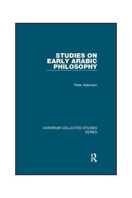 Abbildung von Adamson | Studies on Early Arabic Philosophy | 2019