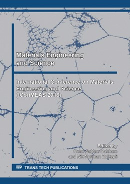 Abbildung von Dahham / Zulkepli | Materials Engineering and Science | 1. Auflage | 2020 | beck-shop.de