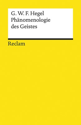 Abbildung von Hegel | Phänomenologie des Geistes | 1. Auflage | 2020 | beck-shop.de
