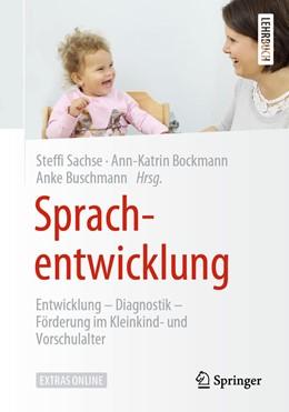 Abbildung von Sachse / Bockmann | Sprachentwicklung | 1. Auflage | 2020 | beck-shop.de