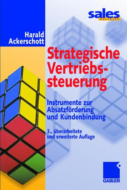 Strategische Vertriebssteuerung | Ackerschott | 3., überarb. u. erw. Aufl. 2001, 2001 | Buch (Cover)