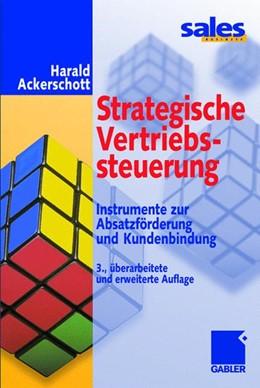 Abbildung von Ackerschott   Strategische Vertriebssteuerung   3., überarb. u. erw. Aufl. 2001   2001   Instrumente zur Absatzförderun...