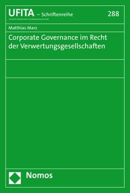 Abbildung von Marz   Corporate Governance im Recht der Verwertungsgesellschaften   2020   288