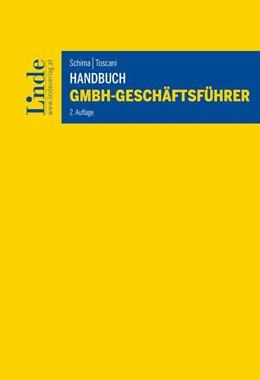 Abbildung von Schima / Toscani   Handbuch GmbH-Geschäftsführer   2. Auflage 2020   2020