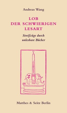 Abbildung von Wang   Lob der schwierigen Lesart   1. Auflage   2020   beck-shop.de
