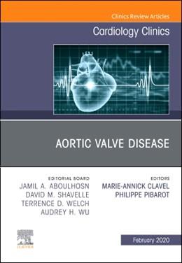Abbildung von Clavel / Pibarot | Aortic Valve Disease, An Issue of Cardiology Clinics | 2019 | 38-1