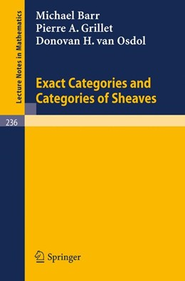 Abbildung von Barr / Grillet / Osdol | Exact Categories and Categories of Sheaves | 1971