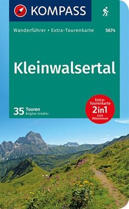 Abbildung von Schäfer | KOMPASS Wanderführer Kleinwalsertal | 1. Auflage | 2020 | 2in1 Wanderführer mit Extra-To...