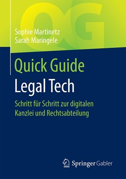 Abbildung von Martinetz / Maringele | Quick Guide Legal Tech | 1. Auflage | 2020 | beck-shop.de