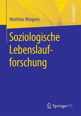 Abbildung von Wingens   Soziologische Lebenslaufforschung   2020
