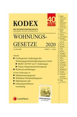 Abbildung von Doralt | KODEX Wohnungsgesetze 2020 | 19. Auflage | 2019