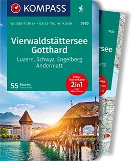 Abbildung von Wille | KOMPASS Wanderführer Vierwaldstättersee, Gotthard | 1. Auflage | 2020 | Wanderführer mit Extra-Tourenk...
