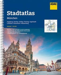 Abbildung von ADAC StadtAtlas München 1:20 000 mit Augsburg, Dachau, Erding, Freising | 10. Auflage | 2020 | beck-shop.de
