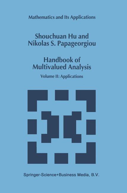 Abbildung von Shouchuan Hu / Papageorgiou | Handbook of Multivalued Analysis | 2000