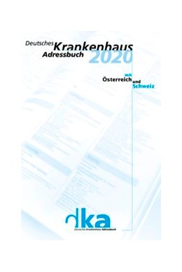 Abbildung von Deutsches Krankenhaus Adressbuch 2020 | 2020 | dka 2020