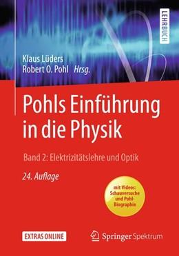Abbildung von Lüders / Pohl   Pohls Einführung in die Physik   24. Auflage   2018   beck-shop.de
