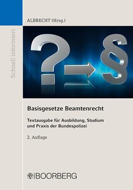 Abbildung von Albrecht | Basisgesetze Beamtenrecht | 2. Auflage | 2020 | beck-shop.de