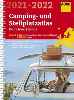 Abbildung von ADAC Camping- und Stellplatzatlas Deutschland/Europa 2021/2022 | 5. Auflage | 2020
