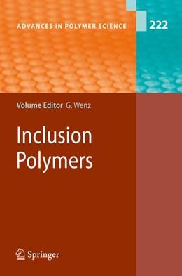 Abbildung von Wenz   Inclusion Polymers   1. Auflage   2009   beck-shop.de