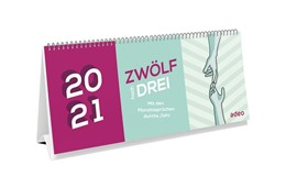 Abbildung von Hoffmann | Zwölf hoch drei - Kalender 2021 | 2020 | Mit den Monatssprüchen durchs ...