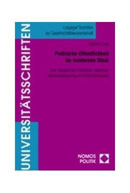 Abbildung von Politische Öffentlichkeit im modernen Staat | 1. Auflage | 2001 | 7 | beck-shop.de