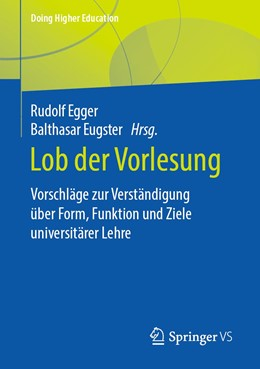 Abbildung von Egger / Eugster   Lob der Vorlesung   1. Auflage   2020   beck-shop.de